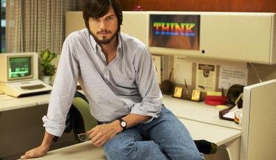 "Ashton Kutcher w filmie ""Jobs"""