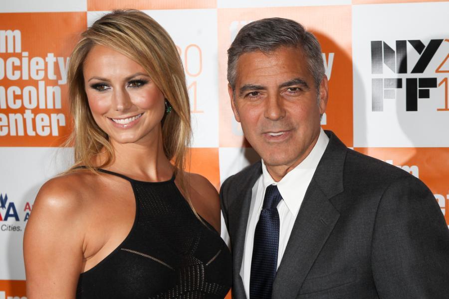 George Clooney rozstał się ze Stacy Keibler