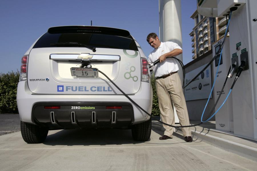 Chevrolet zasilany ogniwami wodorowymi
