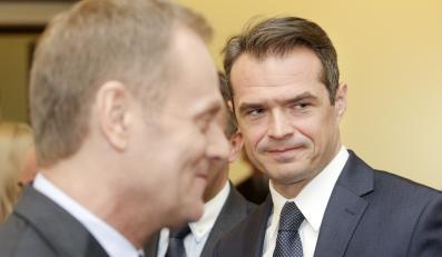 Posiedzenie rządu - Donald Tusk i Sławomir Nowak