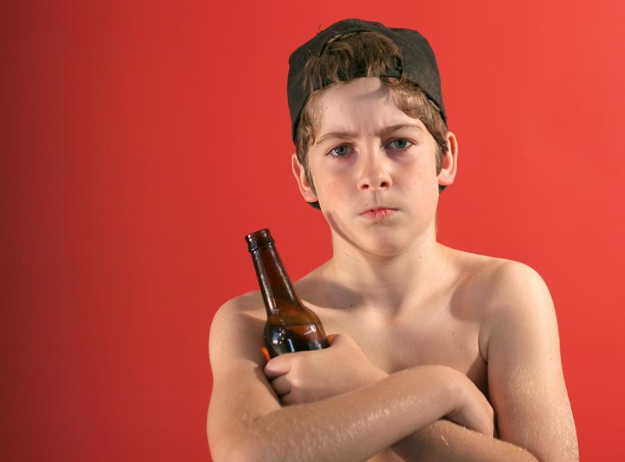 Pije ojciec, pije dziecko?
