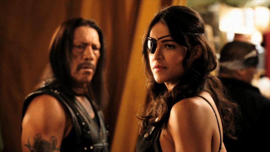 Michelle Rodriguez i Danny Trejo w \