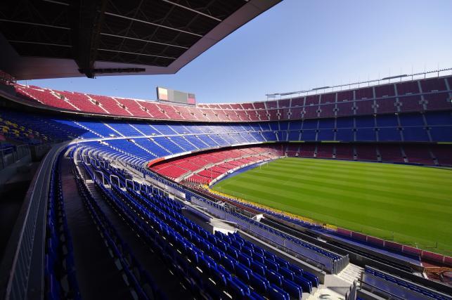 Barcelona - stadion Camp Nou