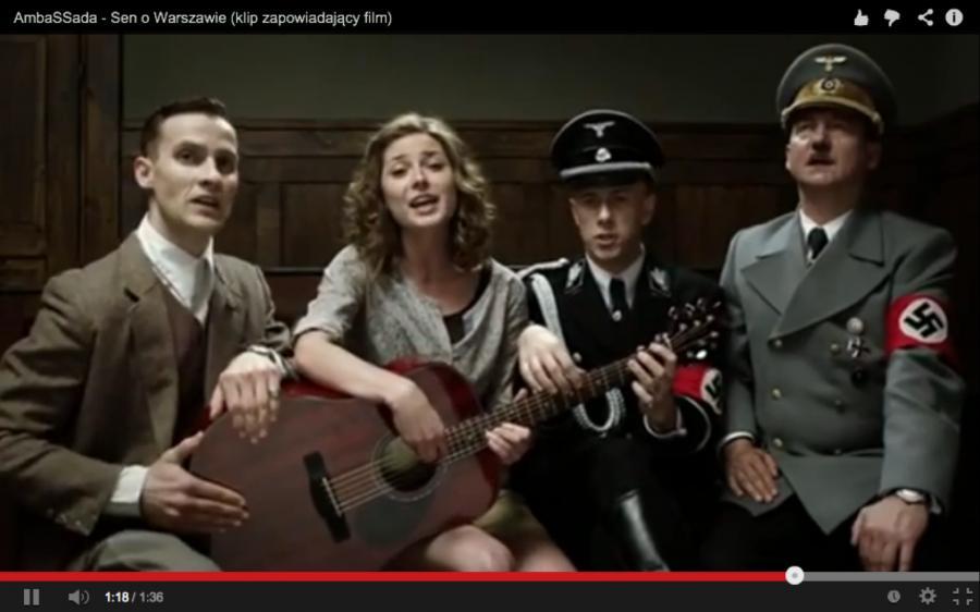 Hitler i Ribbentrop śpiewają \