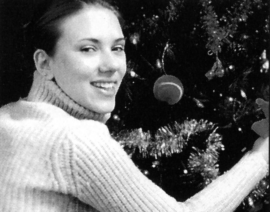 Scarlett Johansson na zdjęciu sprzed lat