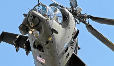 Śmigłowiec bojowy Mi-24