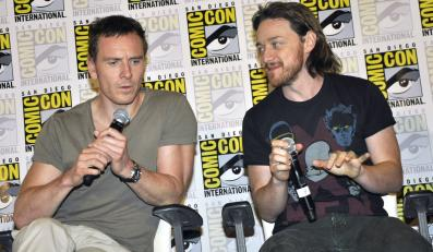 "Michael Fassbender i James McAvoy promowali ""X-Men: Days of Future Past"" na Comic Con International 2013"