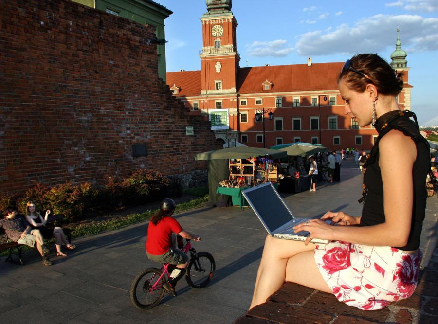Sposób na darmowy internet w Polsce