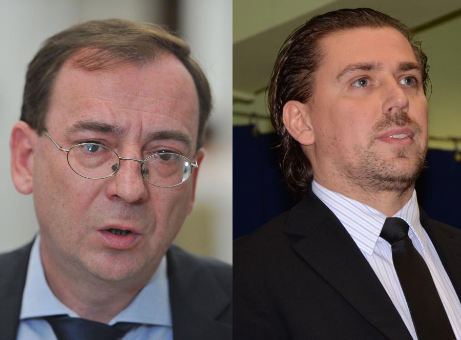Mariusz Kamiński i Tomasz Kaczmarek
