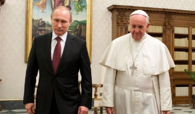 Papież Franciszek i Władimir Putin