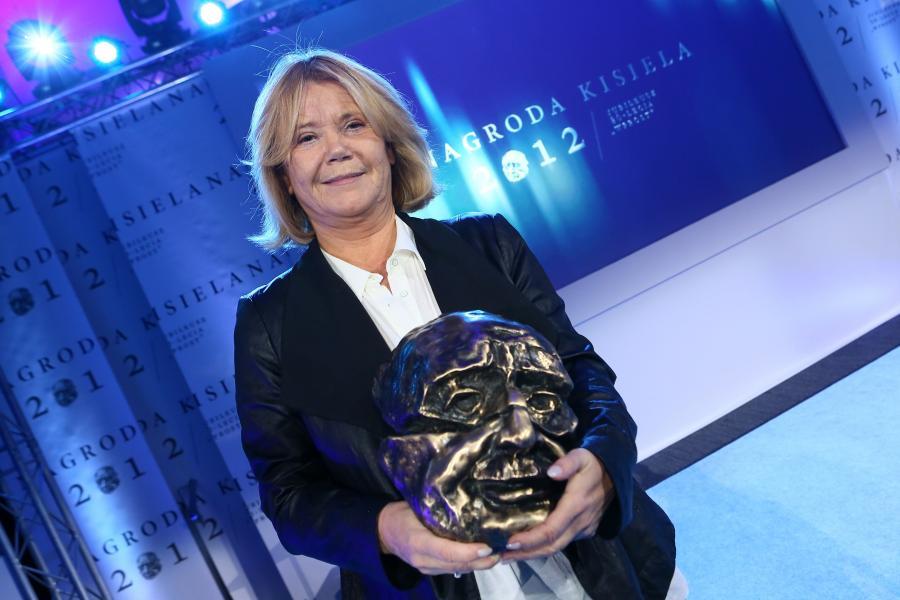 Joanna Solska na rozdaniu Nagród Kisiela