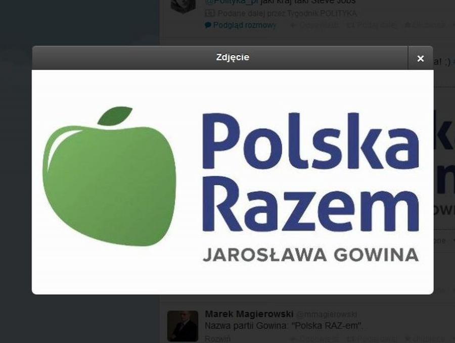 Logo partii Jarosława Gowina
