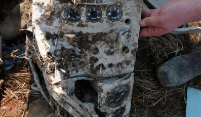 Zniszczona tablica instalacji elektrycznej