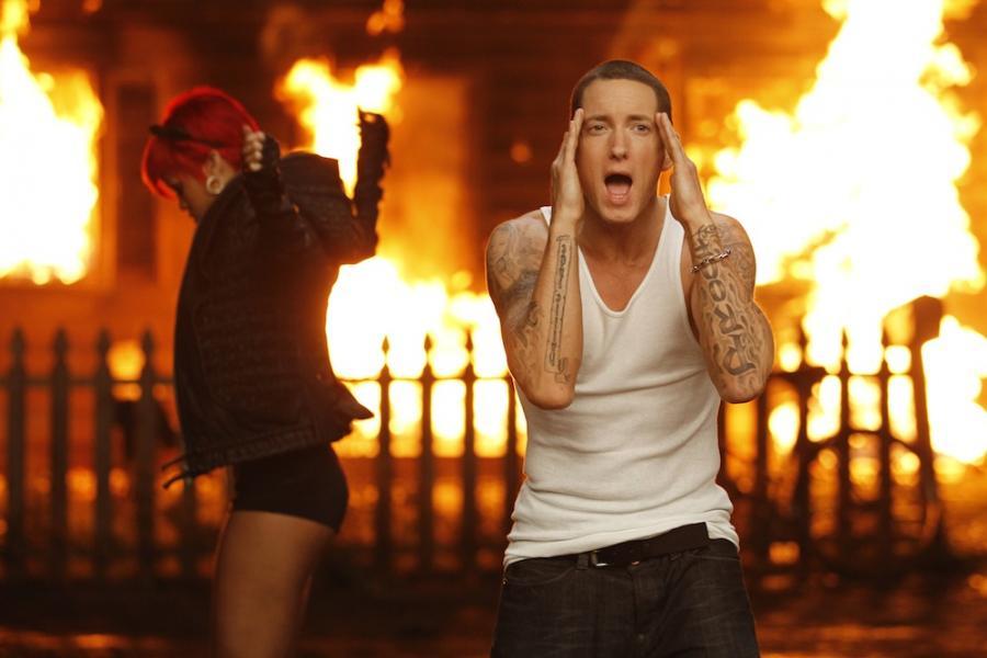 Eminem i Rihanna na planie klipu do \