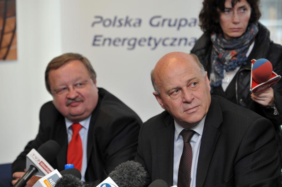 Zdzisław Kręcina i Grzegorz Lato
