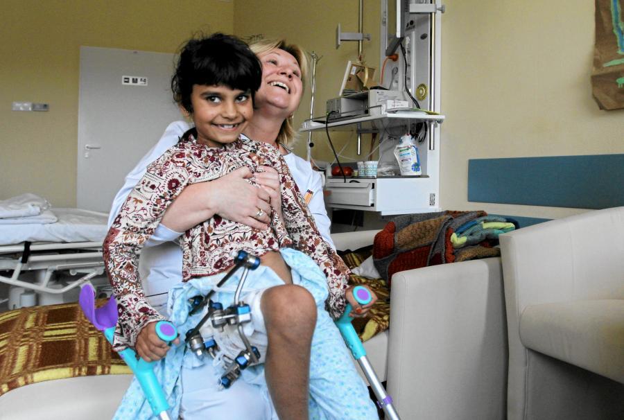 Zarka, dziewczynka z Afganistanu