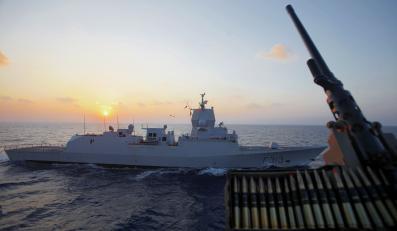 Eskorta statku z bronią chemiczną