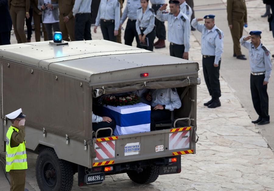 Pogrzeb Ariel Szarona