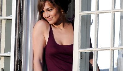 "Jennifer Lopez na planie ""The Boy Next Door"""