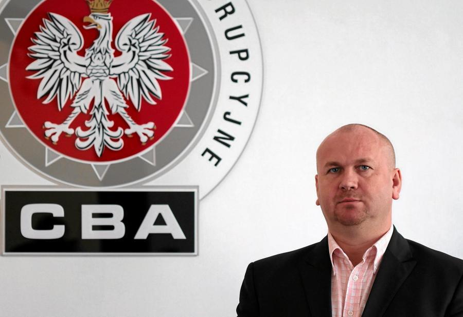 Szef CBA Paweł Wojtunik