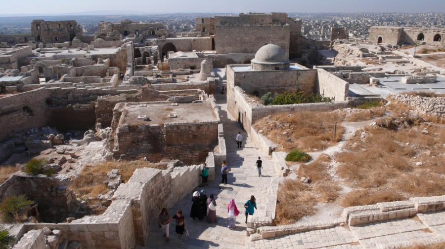 zabytki Aleppo Syria