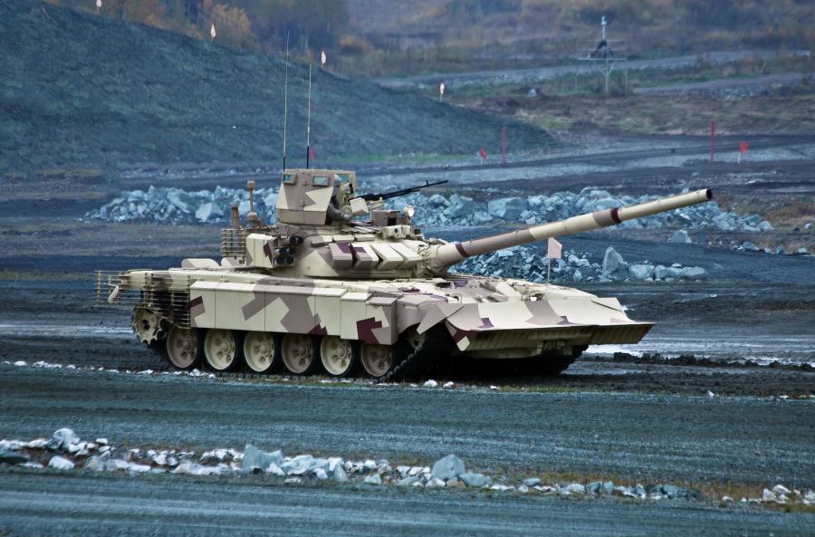 Rosja rosyjski czołg T-90MC