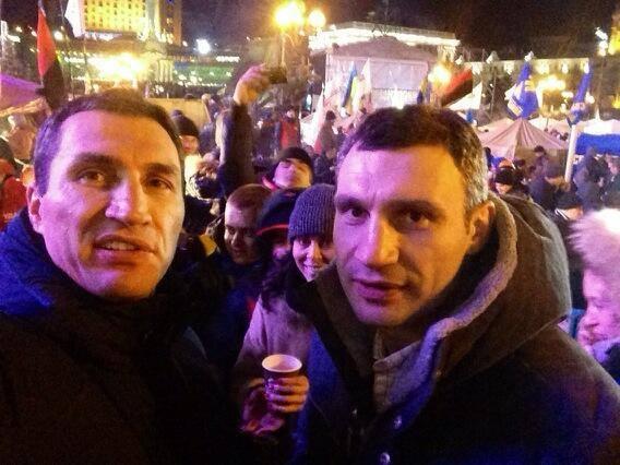 Władimir i Witalij Kliczko