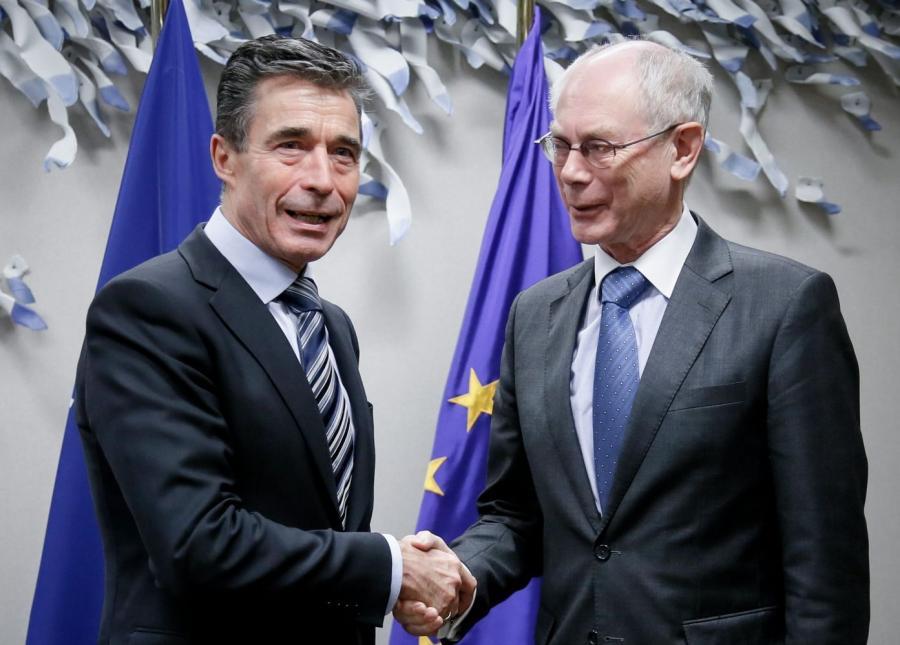 Herman Van Rompuy i Anders Fogh Rasmussen