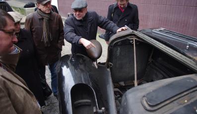 Cadillac kupiony dla Marszałka Józefa Piłsudskiego - stan obecny
