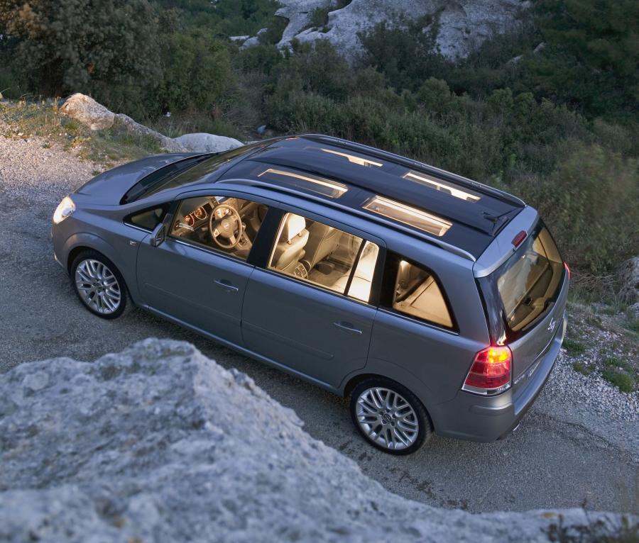 Opel zafira poprzedniej generacji