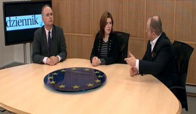 Dominika Ćosić rozmawia z Pawłem Kowalem i Pawłem Zalewskim