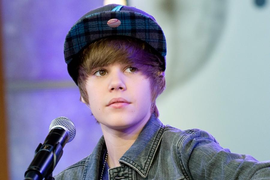 Dziecięce gwiazdy muzyki: Justin Bieber