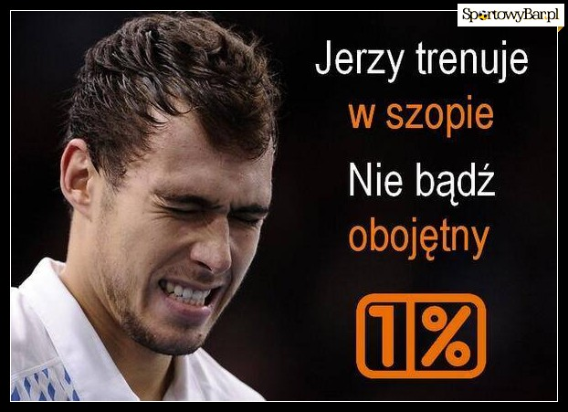 Jerzy Janowicz - mem