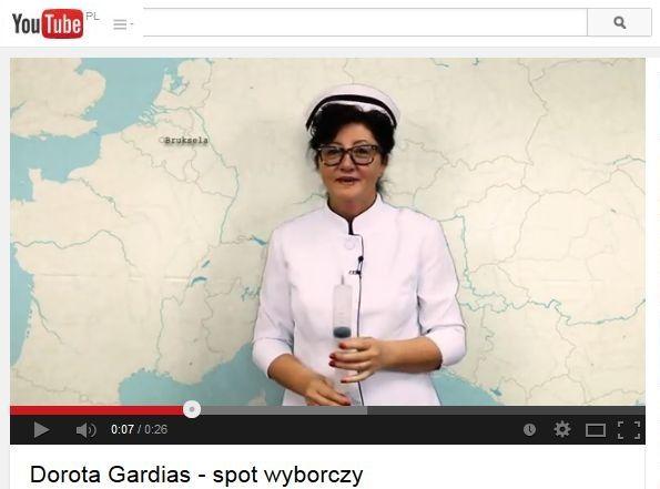 spot wyborczy Doroty Gardias