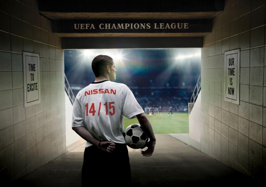 Nissan gra w Lidze Mistrzów UEFA