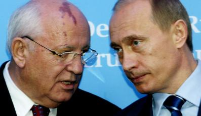 Michaił Gorbaczow i Władimir Putin