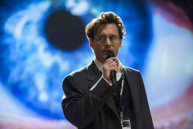 "Johnny Depp w filmie ""Transcendencja"""