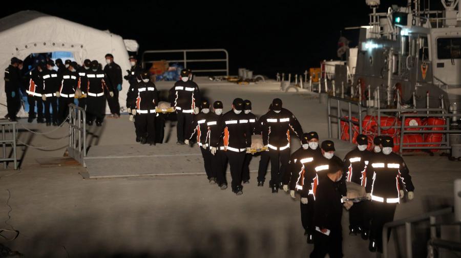 Wzrosła liczba ofiar katastrofy promu \