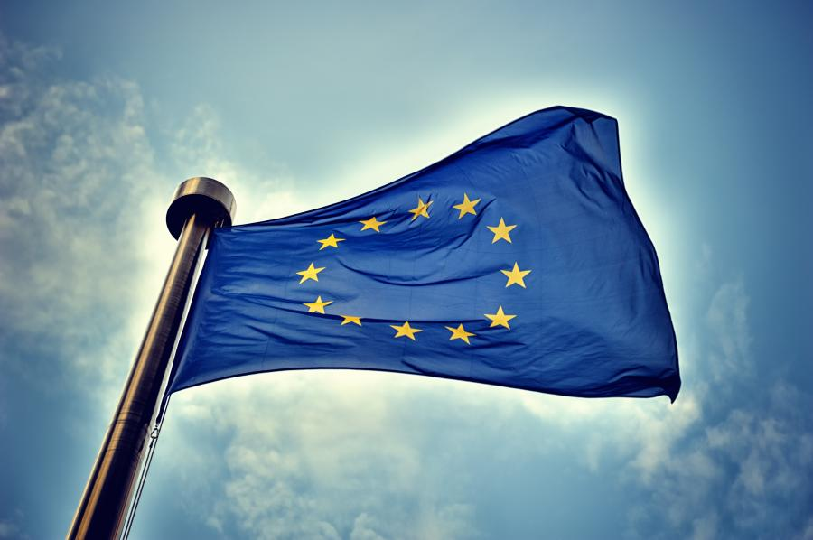 Unia Europejska. Flaga Unii Europejskiej UE