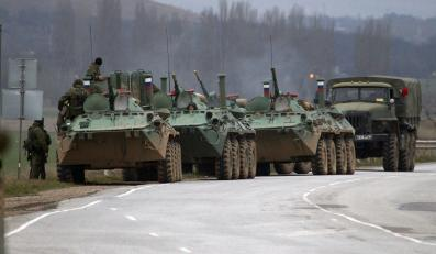 Rosyjskie wozy opancerzone