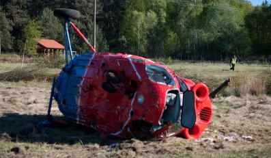 Wypadek śmigłowca w miejscowości Czysta