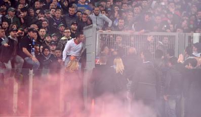 Puchar Włoch w cieniu chuligaństwa