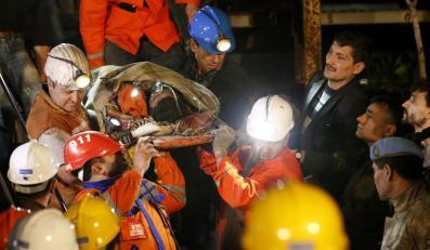 Akcja ratownicza w tureckiej kopalni