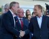 Donald Tusk z ministrem kultury Bogdanem Zdrojewskim, który najpewniej zostanie europosłem
