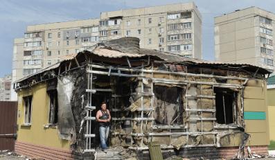 Ługańsk na Ukrainie