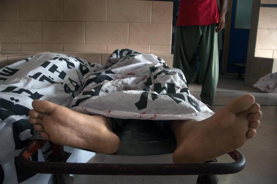 Ofiara ataku na lotnisku w Karaczi