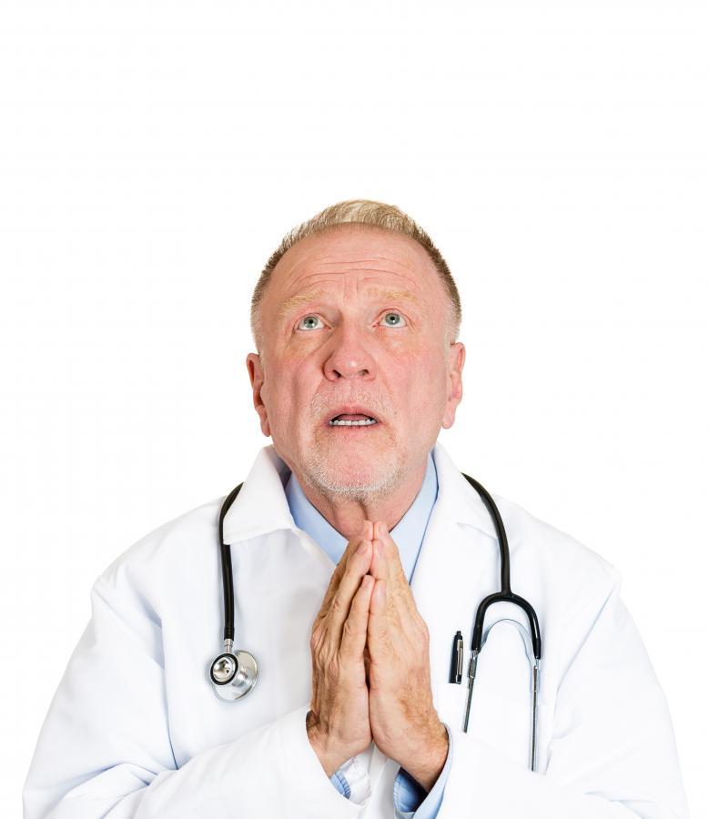 Lekarz się modli