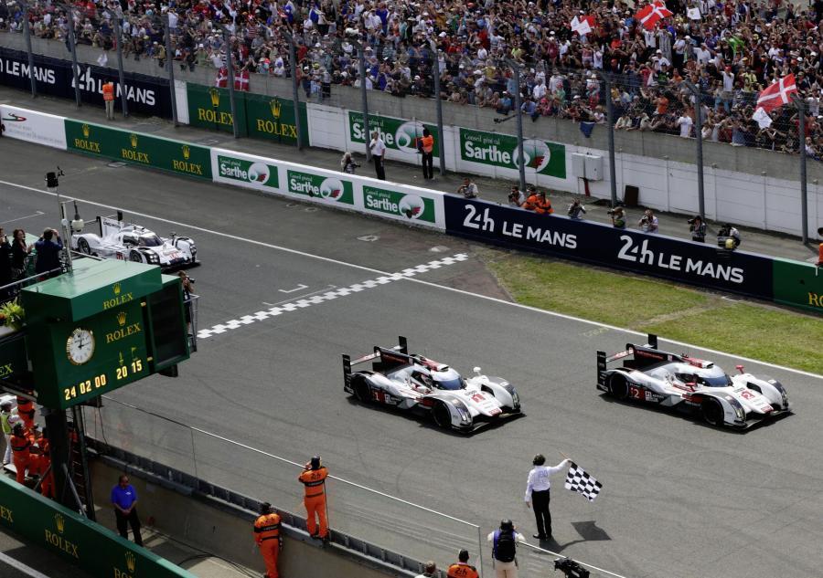 Audi wygrało 24-godzinny wyścig w Le Mans