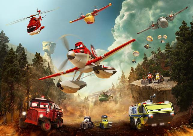 Dusty i inne samoloty gaszą pożary