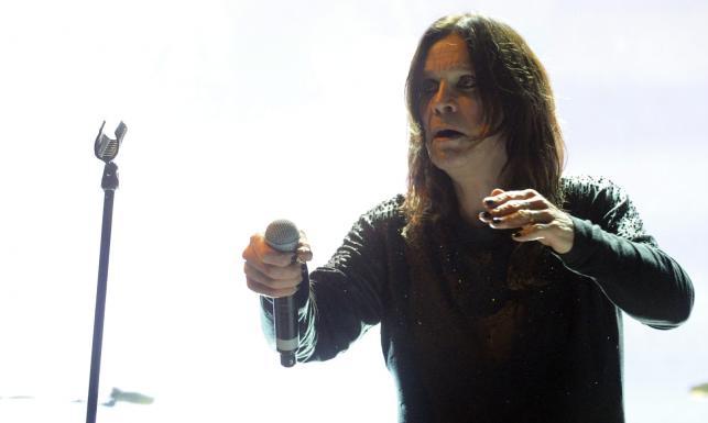 Ozzy Osbourne i Black Sabbath podczas występu na fesiwalu Nova Rock 2014 w Nickelsdorfie